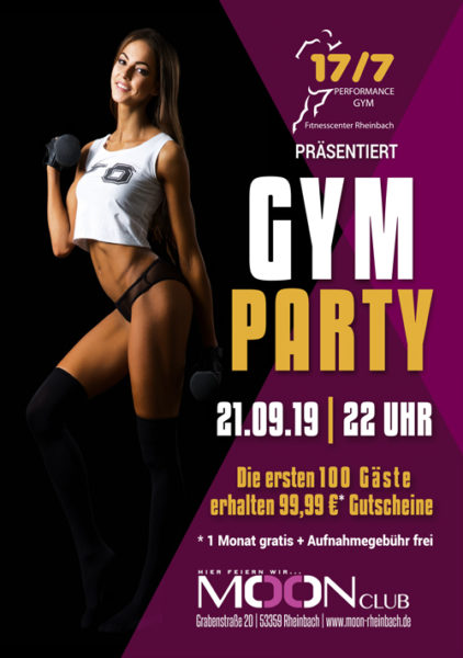 17/7 GYM PARTY
